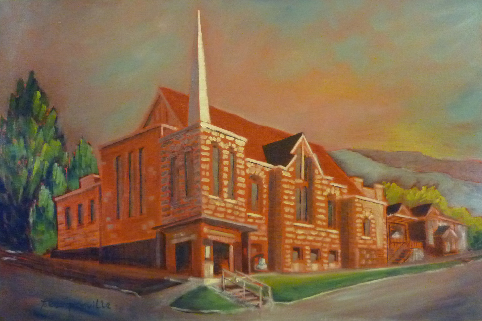 Nelson United Church Nelson, BC by Tea Preville