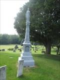 Image for O'Leary Zinc Headstone - Orono, ON