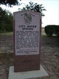 Image for City Water Spring - Broken Arrow, OK