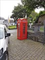 Image for Red Telephone Box - Mayen, Rhineland-Palatinate (RLP), Germany