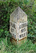 Image for Leeds Liverpool Canal Milestone – Parbold, UK