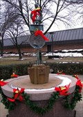 Image for Arche Memorial Fountain - Dixie Hwy West - Lincoln Hwy Crossing - Chicago Heights, Illinois