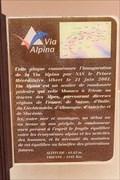 Image for Red Trail of Via Alpina - Monaco-Ville, Monaco