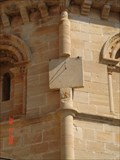 Image for Sundial on the Church of Holy Sepulchre in Torres del Rio, Spain