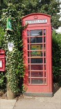 Image for Red Telephone Box - High Street - Somerby, Leicestershire