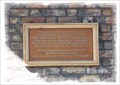 Image for Richborough Transit Camp Commemoration Plaque - The Barbican, Sandwich, Kent, UK.