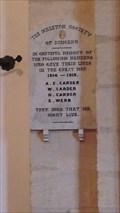 Image for Ringers' Memorial, Church of St.Mary Magdalene, Church Street, Ickleton, Cambridgeshire. CB10 1SR.