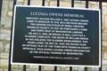 Image for Lucinda Owens Memorial - Washington, MO