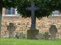 Image for Churchyard Cross at St. Walburgis church, Gelsdorf - RLP / Germany