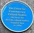 Image for Centre for Contemporary Cultural Studies - The University of Birmingham - Edgbaston, Birmingham, U.K.