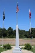 Image for Veteran's Memorial Obelisk -- Calhoun County Courthouse grounds, Hampton AR