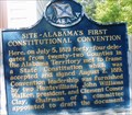 Image for Site - Alabama's First Constitutional Convention