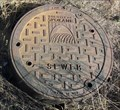 Image for Manhole Cover, North Waterworks St, Spokane, WA