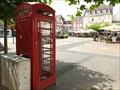 Image for Red Telephone Box - Alter Markt - Euskirchen, Nordrhein-Westfalen, Germany