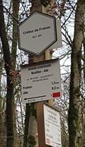 """Image for La 49° 49' 28"""" Long 04° 59' 41"""" - Crêtes de Frahan - Bouillon, Belgique"""