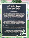 Image for The J.V. Bailey House - Falcon Heights, MN