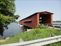 Image for LONGEST covered bridge in Michigan - Centreville, Michigan