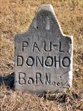 Image for Paul Donoho -- Handley Cemetery, Arlington, TX