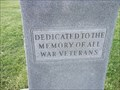 Image for War Memorial - Newtown Cemetery - Newtown, Fountain County, IN