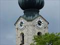 Image for Uhren an der Pfarrkirche St. Georg - Ruhpolding, Lk Traunstein, Bayern, D