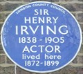 Image for Sir Henry Irving - Grafton Street, London, UK
