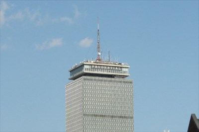 Prudential Building TV and Radio Masts -- Boston MA USA - Radio and