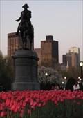 Image for George Washington, Boston Public Garden