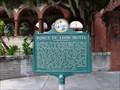 Image for Ponce de León Hotel Historical Marker - St Augustine, FL