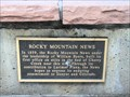 Image for Rocky Mountain News - Denver, CO
