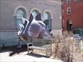 Image for Stegosaurus Statue Outside Berkshire Museum