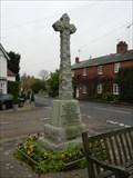 Image for War Memorial, Ullenhall, Warwickshire, UK