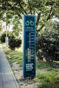 "Image for ""Streit um Fahrradbarometer"" - Kennedybrücke, Bonn, NRW, Germany"
