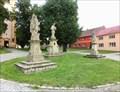 Image for Sv. Jan Nepomucky, Sv. Juda a Sv. Florián - Nezamyslice, Czech Republic