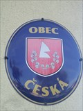 Image for Znak obce - Ceská, Czech Republic