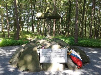 hromadný hrob vojáků