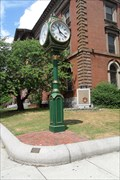 Image for City Hall Square Clock  -  New Bedford, MA