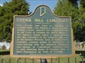 Image for Cedar Hill Cemetery - Corydon, Indiana