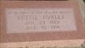 Image for 102 - Bettie Fowler - El Reno Cemetery - El Reno, OK