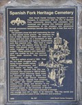 Image for Spanish Fork Heritage Cemetery ~ 557