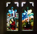 Image for Stained Glass, St Giles Church, Codicote, Herts, UK
