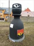 Image for Karlštejnské šachy (18) - cerný pešec / Chess of Karlstein castle - black pawn (Rudná, Czech Republic)