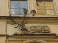 Image for Deer at former former guest house Goldener Hirsch , Regensburg - Bavaria / Germany