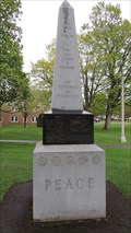 Image for War Monument Obelisk - Houlton, ME