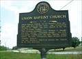 Image for Union Baptist Church-GHM 086-2-Lanier Co