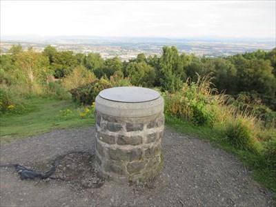 Orientation table on the summit.