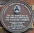 Image for Pimlico Hostelry and Pleasure Gardens - Pitfield Street, London, UK