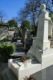 Heinrich Heines Grave (in Montmartre Cemetery)