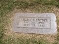Image for 101 - Lillian C. Snyder - Rose Hill Burial Park - OKC, OK