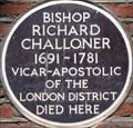 Image for Bishop Richard Challoner - Old Gloucester Street, London, UK