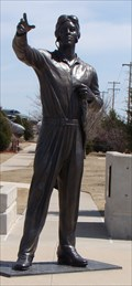 Image for First African American to shoot down an enemy aircraft - Midwest City, Oklahoma